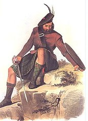 Clan MacKay illustration by R. R. McIan