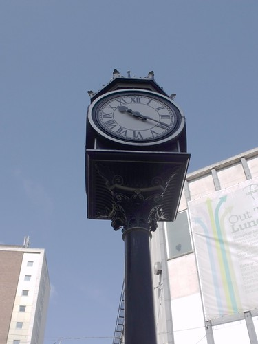 Kings Head Clock, High Street, Birmingham