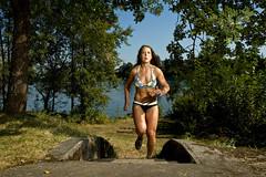 Nicole Fitzhugh by Kirk Jones (kirk jones) Tags: lake sports outdoors weddingdress charlene strobist nicolefitzhugh