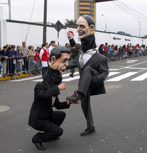 Fujimori y Montesinos