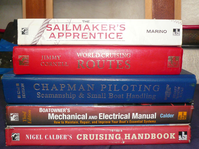 how about some books to go along with your new boat.