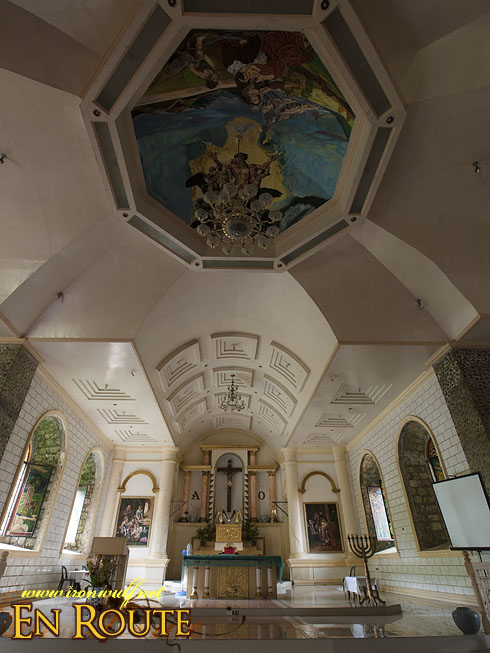 Bato Church Roof and modern altar