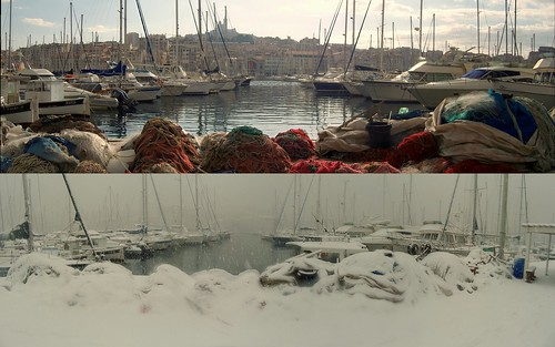 weather changes : marseille la blanche