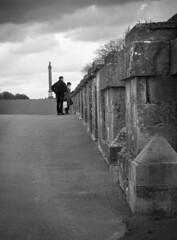 Blenham Palace Bridge (rose.lane) Tags: bridge white black lines point palace vanishing blenham leadin