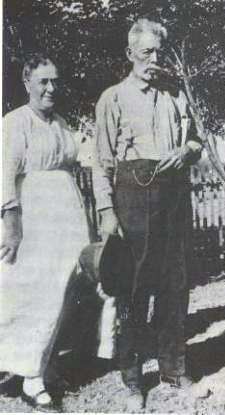 James Holman y América Moore