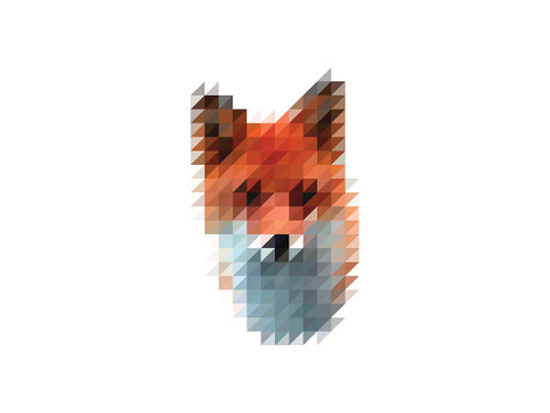 The Sliced Pixel Project Fox