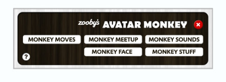 Zooby Monkey Avatar