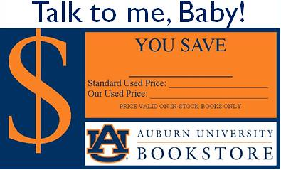 MBS Foreword Online - Auburn University Bookstore's shelf-talkers