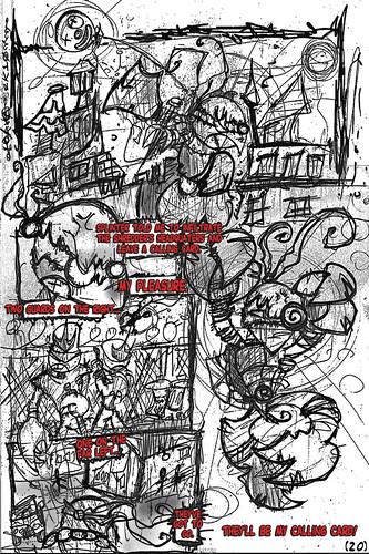 """Teenage Mutant Ninja Turtles"" #1 V.1 Remix Fan Comic / Pg.20 art by tOkKa (( 2011 ))"