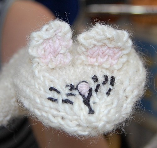 bunny mittens