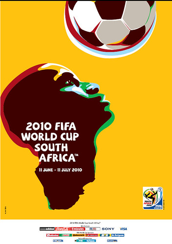 Official 2010 World Cup Poster by Shine 2010 - 2010 World Cup good news.