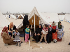 Gazans left homeless following Israel's Cast L...