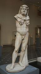 Marble Statue of a Bearded Hercules (griannan) Tags: 2009 hercules loh metmuseum greekandromangalleries opalartseekers4 WLA:org=metmuseum WLA:cat=1 WLA:team=opalartseekers4