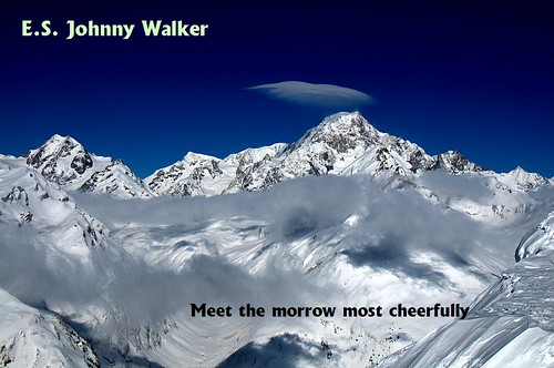 E.S. Johnny Walker - Meet the morrow most cheerfully