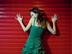 Elena (Thomas Cristofoletti's stock photography) Tags: madrid elena strobes e510 plazamajor 1260 1delanocheyunfrioquetecagas