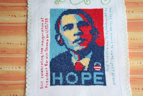 Band Sampler: Cross Stitch