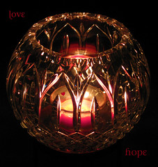 Love, Hope, Prayer & Hugs (dart5150) Tags: light love hope candle crystal fastfredriksson
