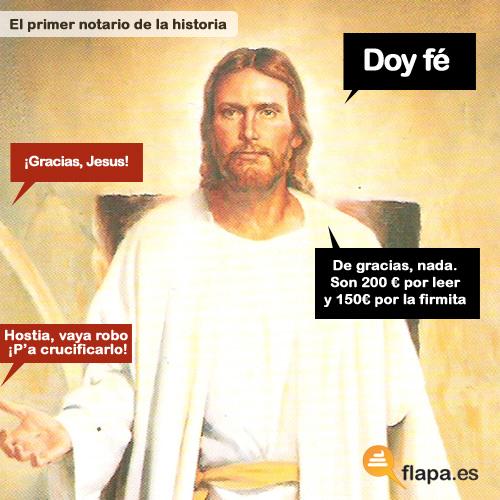 Jesuscristo notario