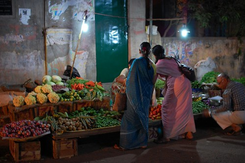 night vegetable market