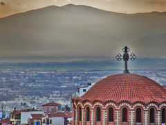 Aghios Pavlos (Saint Paul) (ptg1975) Tags: church saint paul high view hellas greece macedonia thessaloniki βουνο εκκλησια ελλαδα θεσσαλονικη θεα μακεδονια αγιοσ ψηλα παυλοσ ναοσ