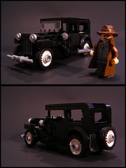 Ford Model B 1932 (Legohaulic) Tags: ford car sedan 1932 lego modelb