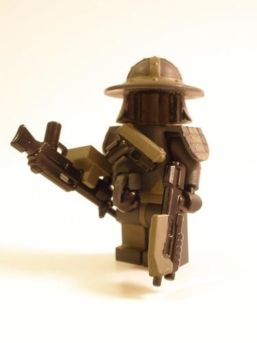 Bloktian Shogun custom minifig
