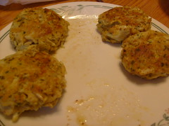 Crab Cakes Ready to Serve