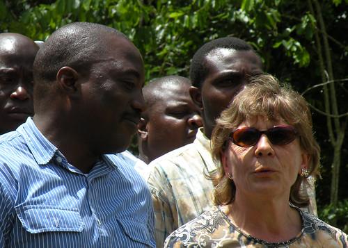 Rosie explains the history of the Okapi station