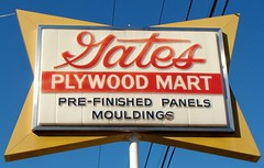 IN, Marion-IN 9(Old) Gates Plywood Mart Sign