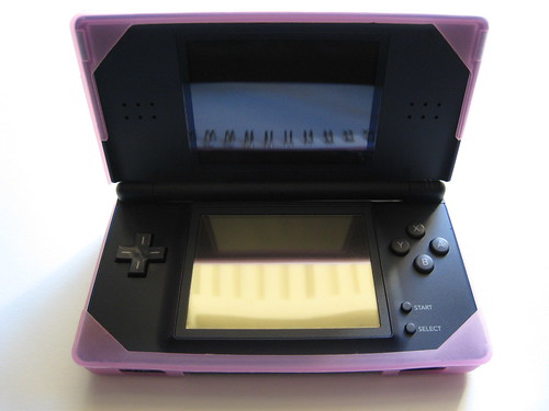 Pink Hori DS Lite Skin - Open