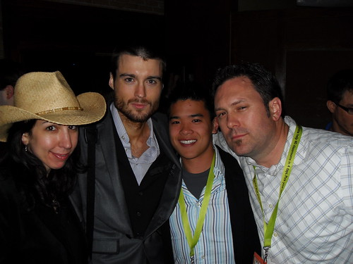 Christine Major, Pete Cashmore, Daniel Ha and Aaron Strout