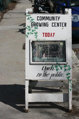 Growing Center Boil Down