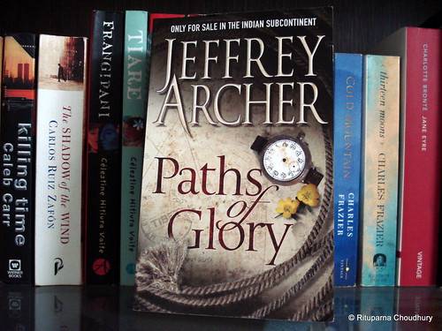 Jeffrey Archer book fan photo