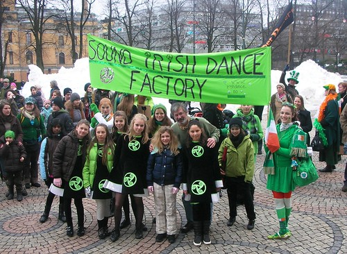 St. Patrick's Day Parade in Oslo #1