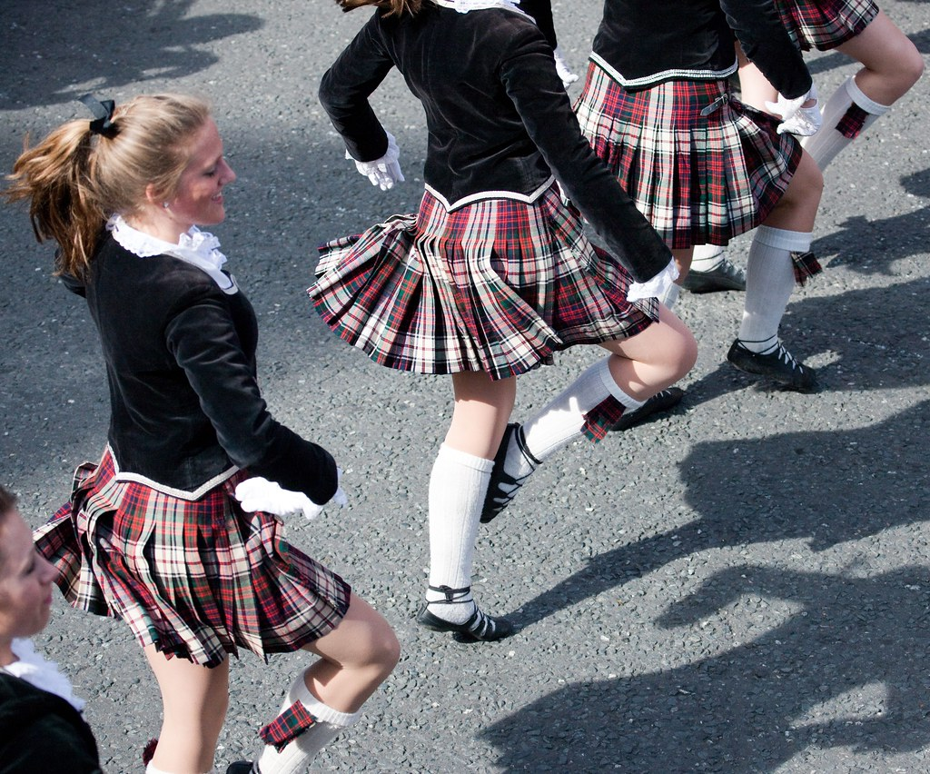Riverview High School Kiltie Band - Dublin Parade 2009