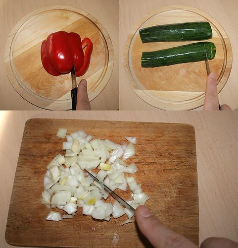 12 - Gemüse zerkleinern