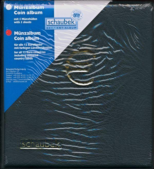 Zásobník - album na euro sady Schaubek