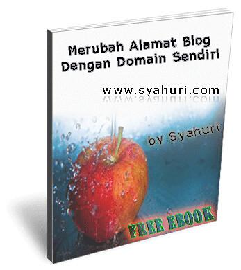 bagaimana cara membuat alamat domain blog dengan domain sendiri. ebook gratis ini menjelaskan tentang cara merubah alamat blog anda yang semula www.nama.blogspot.com menjadi www.namaanda.com atau namaanda.co.cc. cocok untuk blogger pemula sebagai bahan latihan