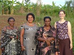 Kate at Fausta's giveaway with Edith, Beatrice and Margaret