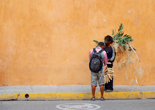 business on the streets of cartagena