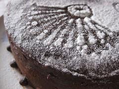 Фото шоколадный торт \'Кружева\'