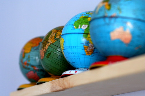 globes abound.