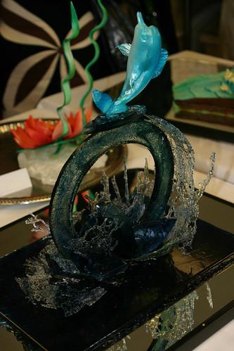 Sugar Work - Dolphin Showpiece