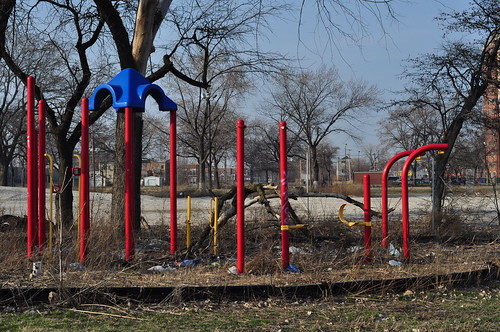 Playground at former Rockwell Gardens site