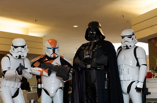 Vader and Stormtroopers at Ad Astra