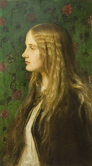 Portrait of Edith Villiers, Later the Countess of Lytton (Maulleigh) Tags: portrait george watts edith lytton frederic villiers countess