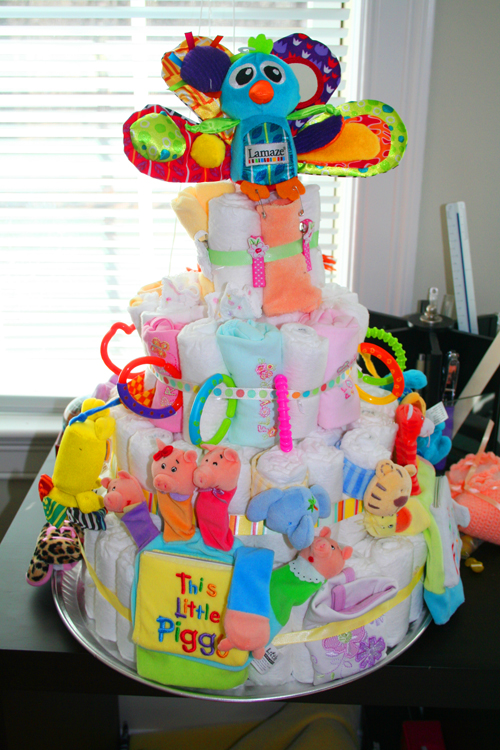 Diaper Cake, but more!