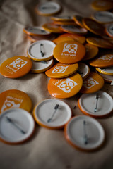 liverpool_4apr2009_7185 (patrick h. lauke) Tags: liverpool pin pins badge badges wolstenholme capitalofculture liverpool08 wolstenholmeprojects
