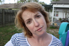 (aislingeach) Tags: silly love goofy crazy backyard funny jen jennifer pregnant redhead wife jenn freckles jiffy fer knucklehead jiffyfer