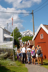 Guided tours and treasure hunts are available (Arendal Tourist Office) Tags: summer foto photos sommer activity tours guided arendal merd austrud